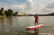 SUP TRIP THROUGHT PRAGUE CENTER'