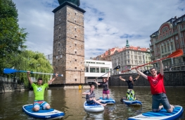 Family trips through the center of Prague