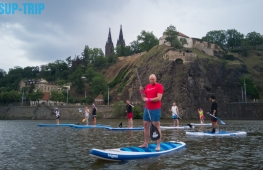 Sup lesson in center of Prague