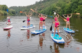 Paddleboarding lessons for children and youth