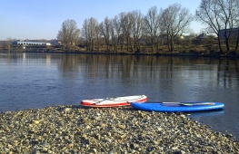 Paddleboarding courses in Prague