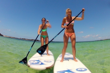Basic SUP course on Fuerteventura