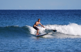 Wave paddleboarding courses on Fuerteventura