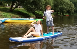 Paddleboarding trips on Berounka