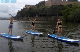 Enjoy paddleboarding in Prague center